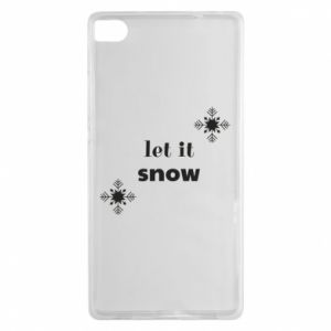 Etui na Huawei P8 Let it snow