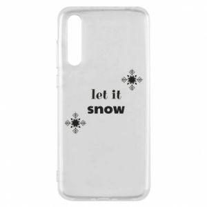 Etui na Huawei P20 Pro Let it snow