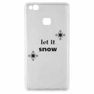 Etui na Huawei P9 Lite Let it snow