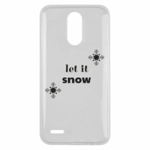 Etui na Lg K10 2017 Let it snow