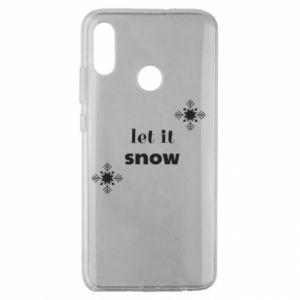 Etui na Huawei Honor 10 Lite Let it snow