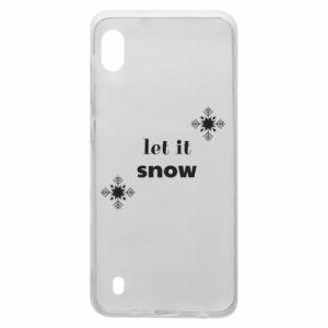 Etui na Samsung A10 Let it snow