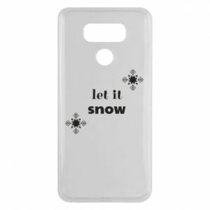 Etui na LG G6 Let it snow