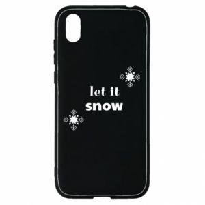 Etui na Huawei Y5 2019 Let it snow