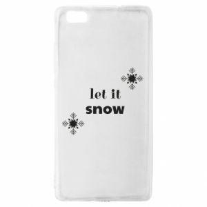 Etui na Huawei P 8 Lite Let it snow