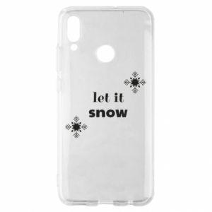 Etui na Huawei P Smart 2019 Let it snow