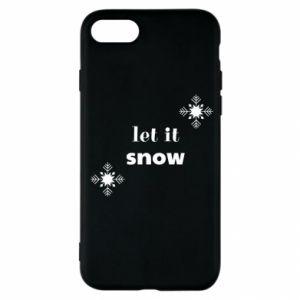 Etui na iPhone SE 2020 Let it snow