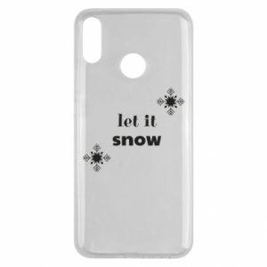 Etui na Huawei Y9 2019 Let it snow