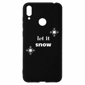 Etui na Huawei Y7 2019 Let it snow