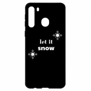 Etui na Samsung A21 Let it snow
