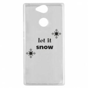 Etui na Sony Xperia XA2 Let it snow