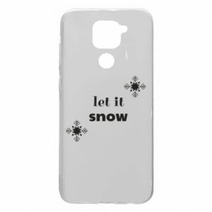 Etui na Xiaomi Redmi Note 9/Redmi 10X Let it snow