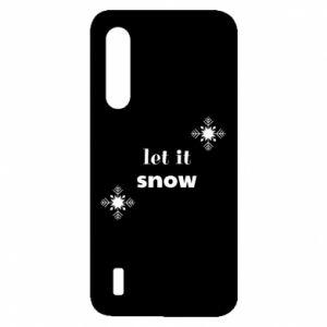 Etui na Xiaomi Mi9 Lite Let it snow