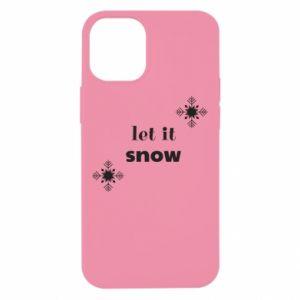 Etui na iPhone 12 Mini Let it snow