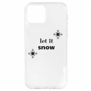 Etui na iPhone 12/12 Pro Let it snow