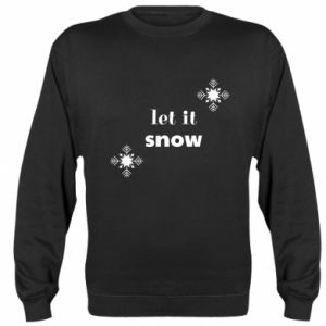 Bluza Let it snow