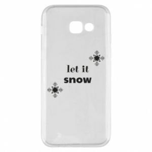 Phone case for Samsung A5 2017 Let it snow