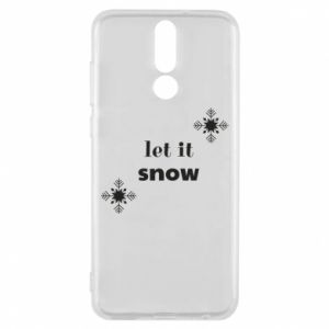 Phone case for Huawei Mate 10 Lite Let it snow