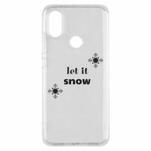 Phone case for Xiaomi Mi A2 Let it snow