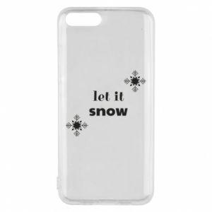 Phone case for Xiaomi Mi6 Let it snow