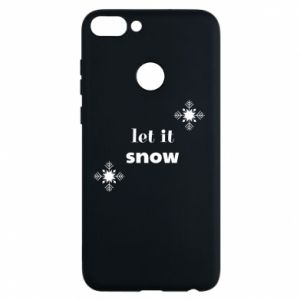 Phone case for Huawei P Smart Let it snow