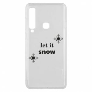 Phone case for Samsung A9 2018 Let it snow
