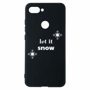 Phone case for Xiaomi Mi8 Lite Let it snow