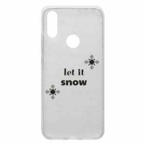 Phone case for Xiaomi Redmi 7 Let it snow