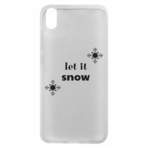 Phone case for Xiaomi Redmi 7A Let it snow