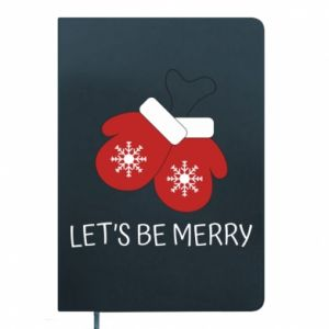 Notepad Let's be merry