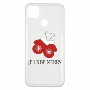 Xiaomi Redmi 9c Case Let's be merry