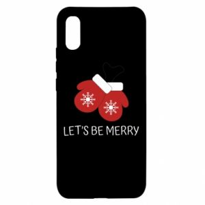 Xiaomi Redmi 9a Case Let's be merry