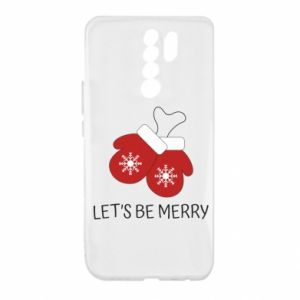 Xiaomi Redmi 9 Case Let's be merry