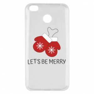 Xiaomi Redmi 4X Case Let's be merry