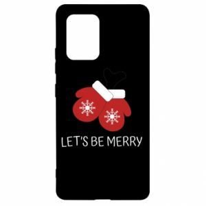 Samsung S10 Lite Case Let's be merry