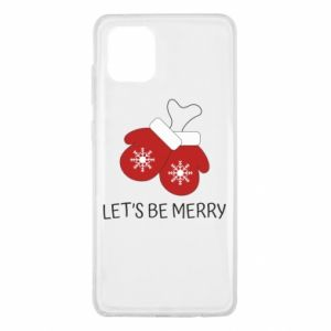 Samsung Note 10 Lite Case Let's be merry
