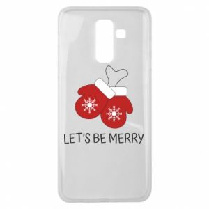Samsung J8 2018 Case Let's be merry