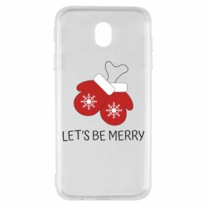 Samsung J7 2017 Case Let's be merry