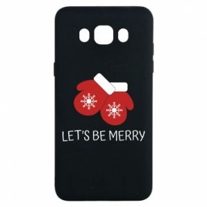 Samsung J7 2016 Case Let's be merry