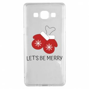Samsung A5 2015 Case Let's be merry