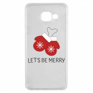 Samsung A3 2016 Case Let's be merry