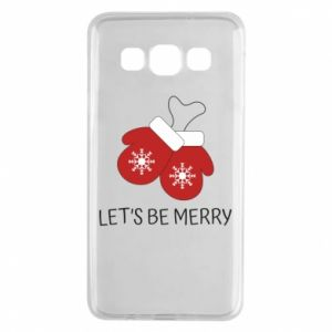 Samsung A3 2015 Case Let's be merry
