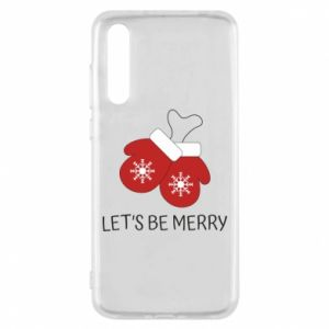 Huawei P20 Pro Case Let's be merry