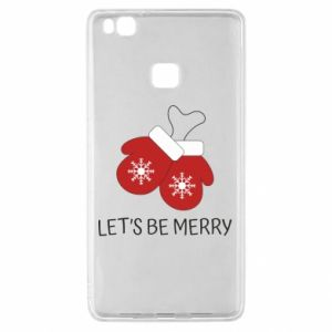 Huawei P9 Lite Case Let's be merry