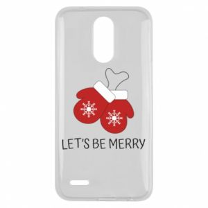 Lg K10 2017 Case Let's be merry