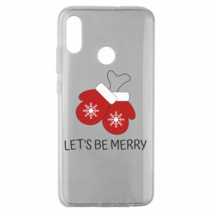 Huawei Honor 10 Lite Case Let's be merry