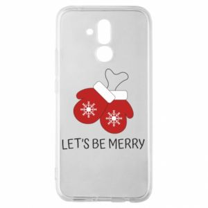 Huawei Mate 20Lite Case Let's be merry