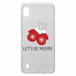 Samsung A10 Case Let's be merry