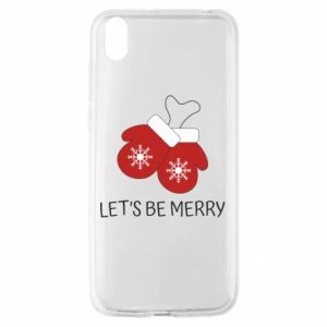 Huawei Y5 2019 Case Let's be merry