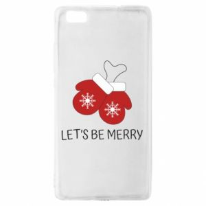 Huawei P8 Lite Case Let's be merry